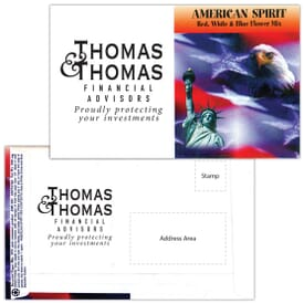 Mailable Series Seed Packet- American Spirit