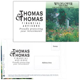Mailable Series Seed Packet- Wildflower Mixture