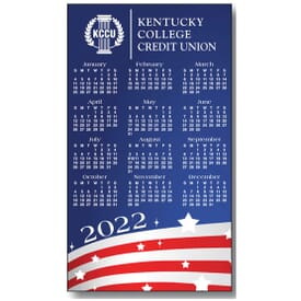Stars And Stripes Magnetic Calendar