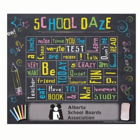 "5 1/2"" X 6 1/2"" Classroom Words Plus™ Photo Frame"