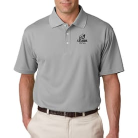 Ultraclub® Men's Cool & Dry Stain-Release Performance Polo