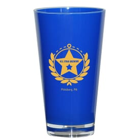 16 oz Glossy Acrylic Pint Cup