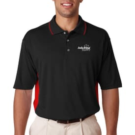 Ultraclub® Men's Cool & Dry Sport 2-Tone Polo