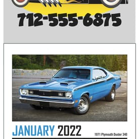 Triumph® Stick Up Muscle Car Calendar