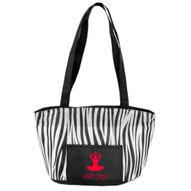 Peva Lined Printed Lunch Bag
