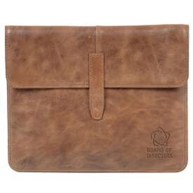 Snap Closure Leather Padfolio
