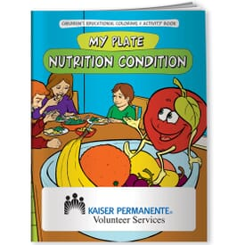 Nutrition Condition Coloring Book