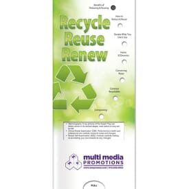 Reduce, Reuse, Recycle Slider Brochure