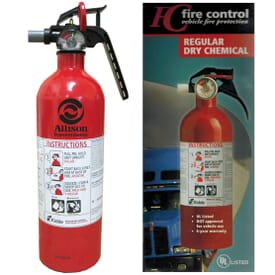 Fire Extinguisher For Commercial Vehicles