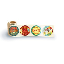 Fun Sticker Rolls Stop Drop & Roll