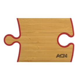 Bamboo Cutting Board - Puzzle Piece Shape