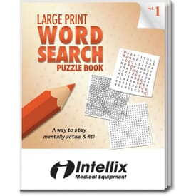 Large Print Word Search Puzzle Book- Volume 1