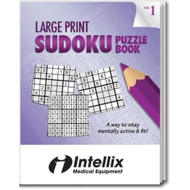 Large Print Sudoku Puzzle Book- Volume 1