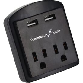Quad USB And A/C Power Adapter - ETL Listed