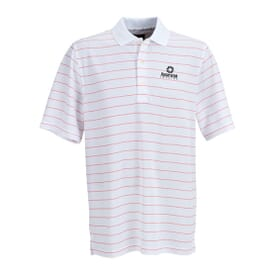 Greg Norman Play Dry® Striped Mesh Polo
