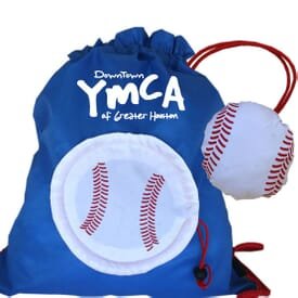 Baseball Drawstring With Stowaway Pouch