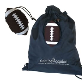 Football Drawstring With Stowaway Pouch
