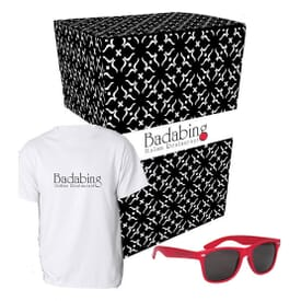 ON SALE-Tee And Shades Combo Set With Gift Box
