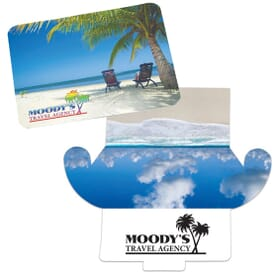 Microfiber Mousepad and Cleaning Cloth w/ Envelope