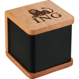 Mini Mahogany Bluetooth® Speaker