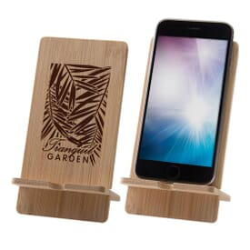 Bamboo Media Stand