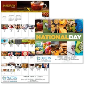 2020 National Days Wall Calendar