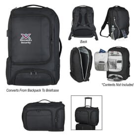 Computer Backpack Briefcase with RFID Pocket