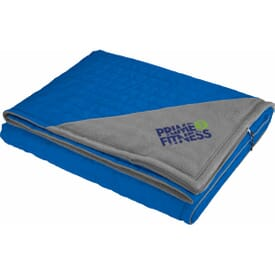 Elevate Oversized Down Blanket with Carry Pouch