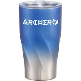 16 oz Ombre Spiral Stainless Steel Tumbler