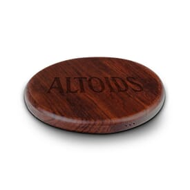 NoWire™ Wood Wireless Qi Charger