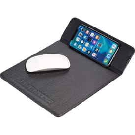 2-in-1 Mouse Pad and Qi Wireless Charger