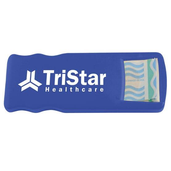 Bandage dispenser giveaways for birthday