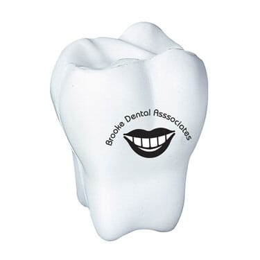 5ce0927eede Stress Balls Tooth - Promotional Giveaway