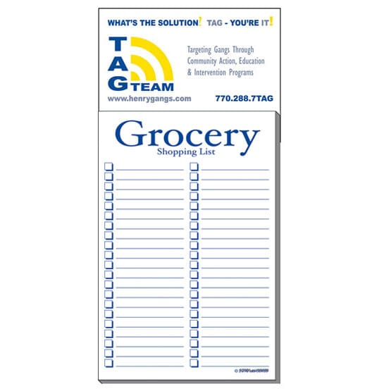 3 1 2 x 7 1 2 business card add on magnet large pad grocery