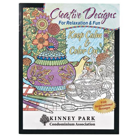 Creative Designs Adult Coloring Book