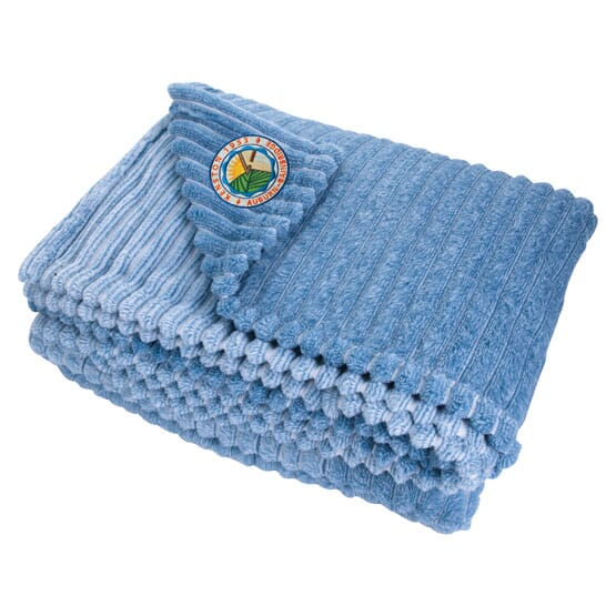 StripePatterned Blanket Promotional Giveaway Crestline Adorable Patterned Blanket