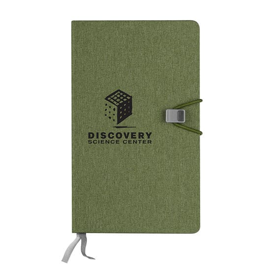 half graph half lined journal notebook promotional giveaway